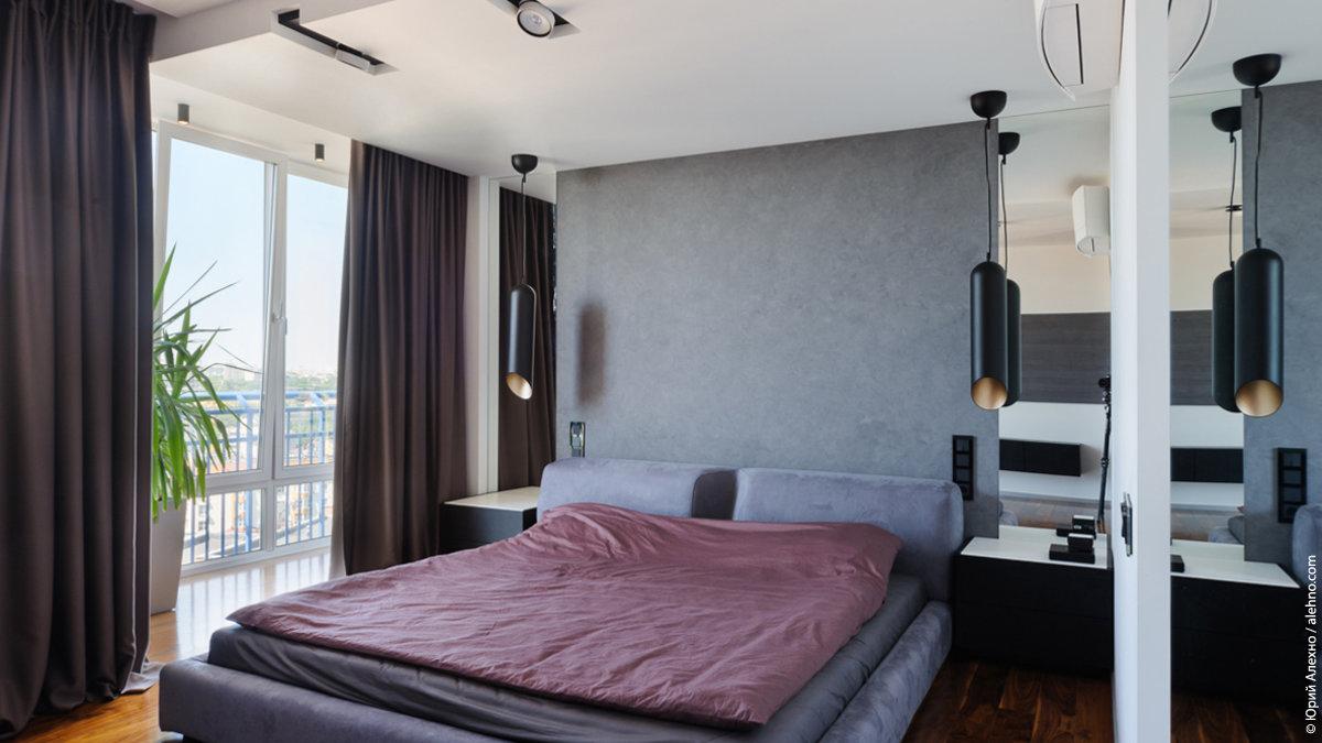 Фото реализованного интерьера спальни